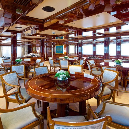 Omega superyacht charter
