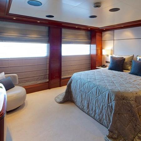 Omega Superyacht charter cabin