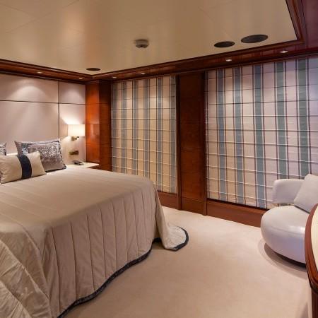 Omega yacht cabin
