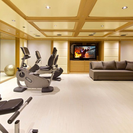 Omega Superyacht Gym