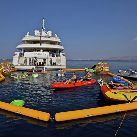 Omega Superyacht water toys