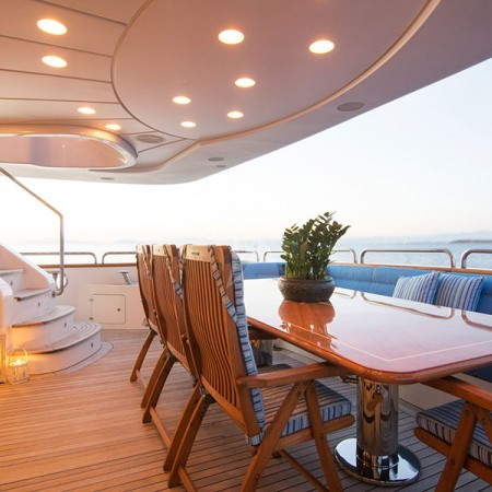 option b yacht deck