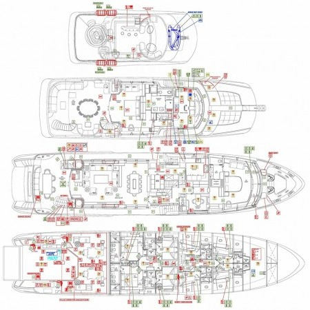 option b yacht layout