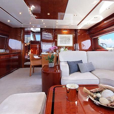 pareaki yacht interior living area