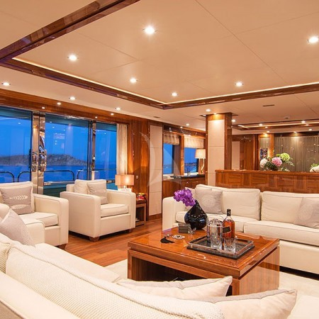 pathos yacht living area