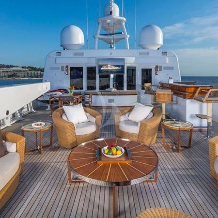 pegasus yacht deck