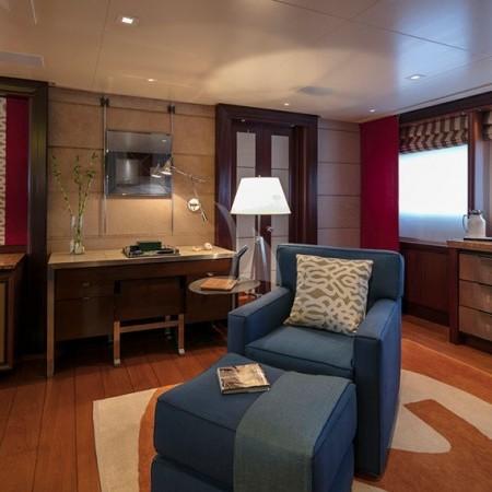 pegasus yacht cabins