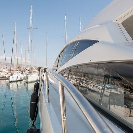 Pershing 56 Yacht Mykonos