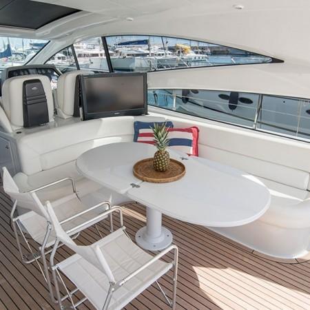 Pershing yacht charter Mykonos