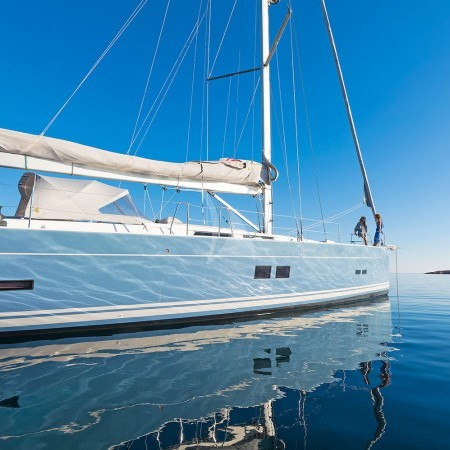 Pharia sailing yacht Greece