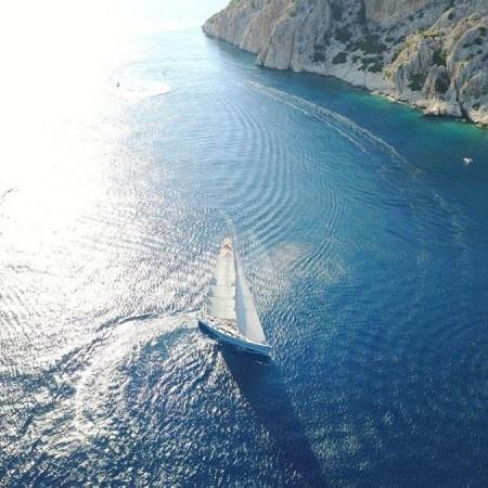 Pharia sailing yacht Greece