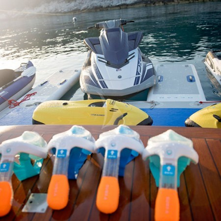 princess L yacht water toys
