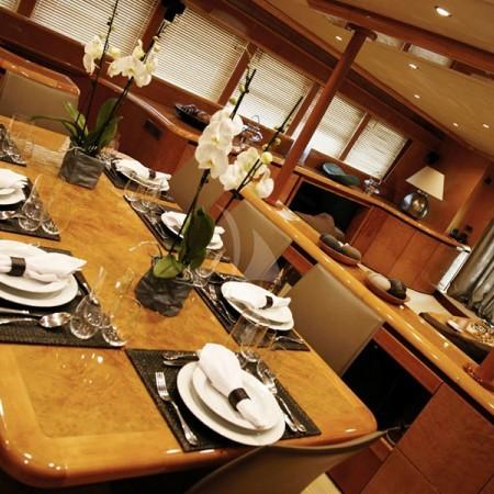 project steel indoor dining