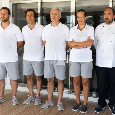 regina k yacht crew