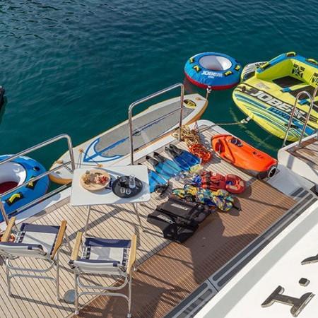 Riva I Yacht water toys