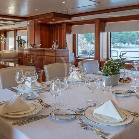 boat's interior