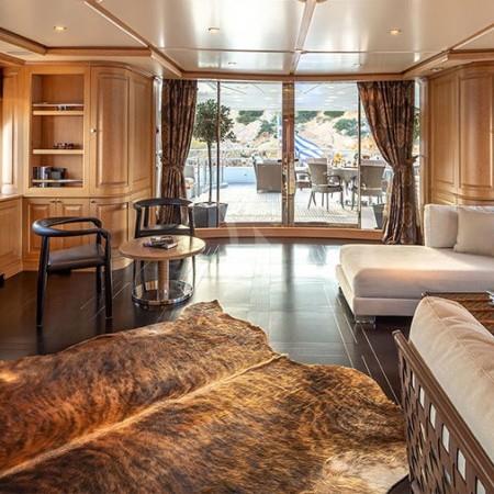 Riva I boat cabin