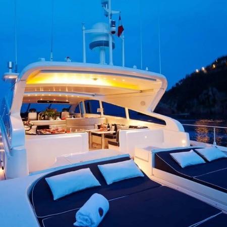romachris yacht charter Mykonos