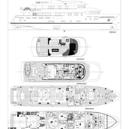 serenity ii yacht layout