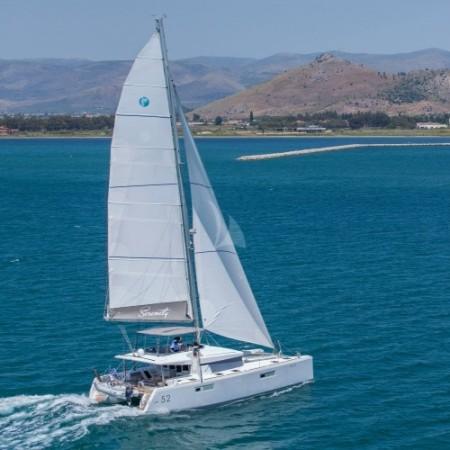 serenity sailing yacht