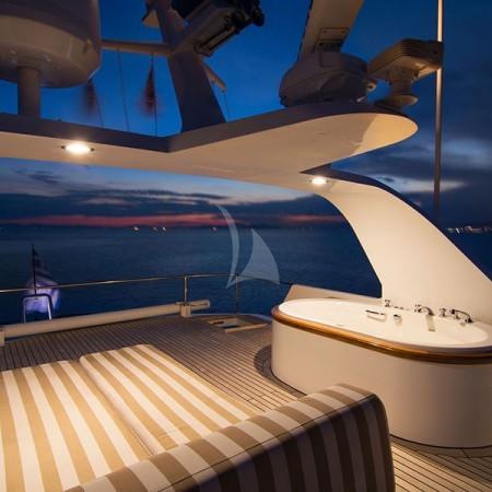 suncoco yacht deck night