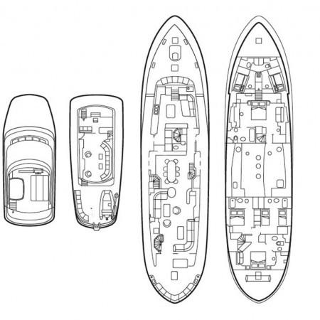 suncoco yacht layout