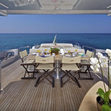 Thea Malta deck dining