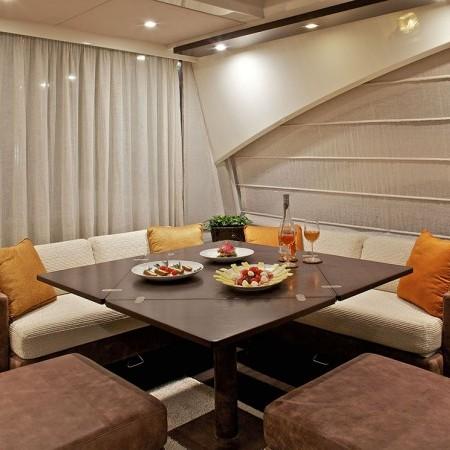 Azimut 68 luxury yacht charter