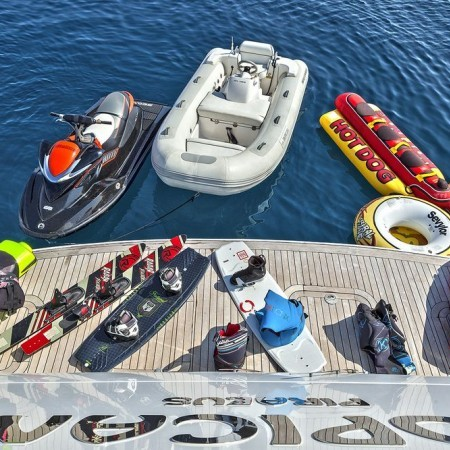 Tropicana superyacht water toys