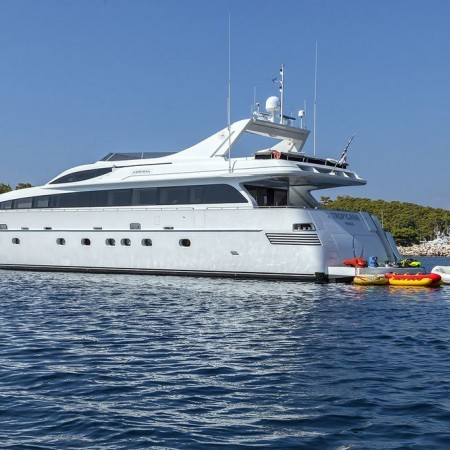 mega yacht charter Greece
