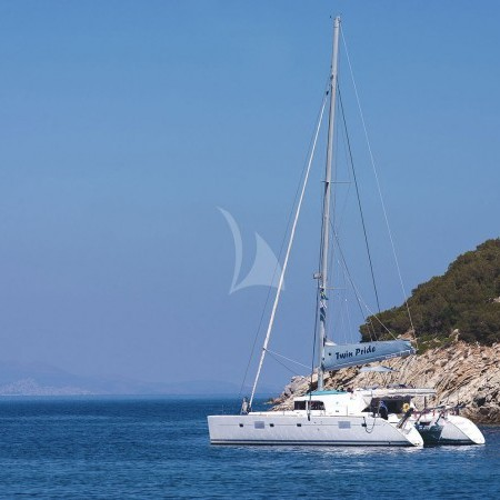 twin pride sailing yacht