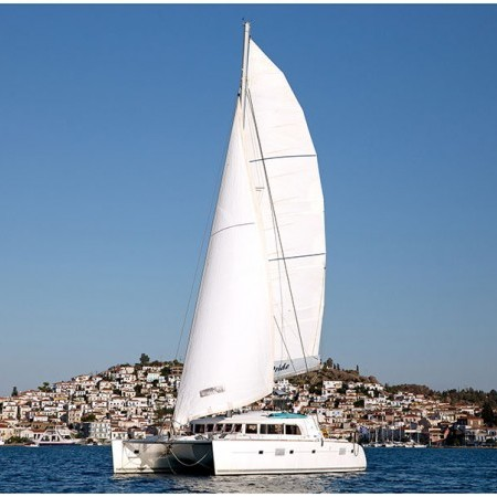 lagoon 500 sailing catamaran Greece