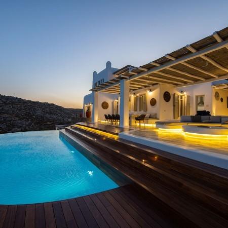 Afitis luxury villa rental in Mykonos