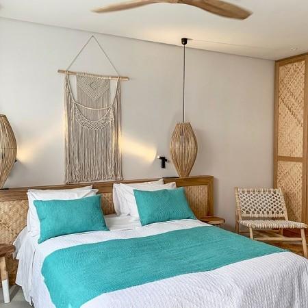 villa cap de l'eau bedroom