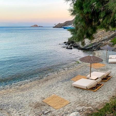 villa in Mykonos - glydadi beach