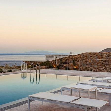 Elia retreat 3 4-bedroom villa rental Mykonos