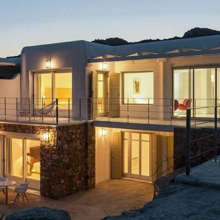 villa for rent Elia mykonos