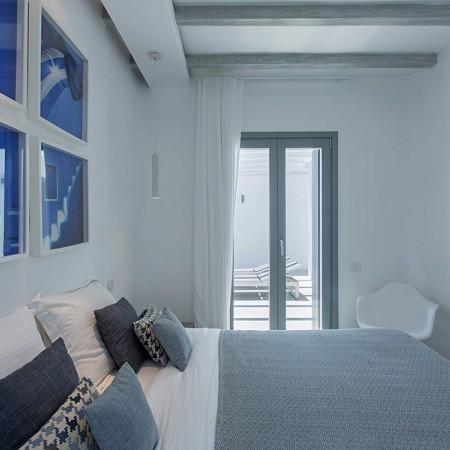 luxury villa in Mykonos with 5 bedrooms