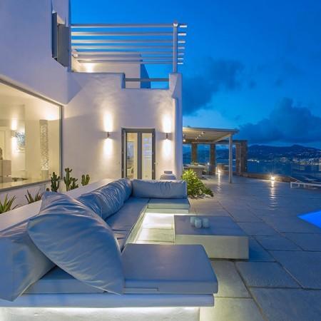 newly built villa for rent in Mykonos