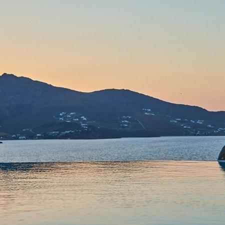 mykonos villa ftelia beach