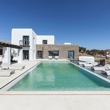 luxury villa myconos