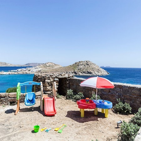 7 bedroom house for rental in Agia Anna Mykonos