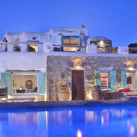 villa Mykonos Gem Night