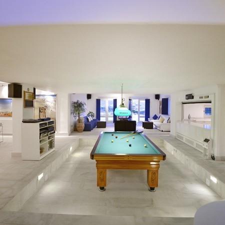 villa paradise billiard