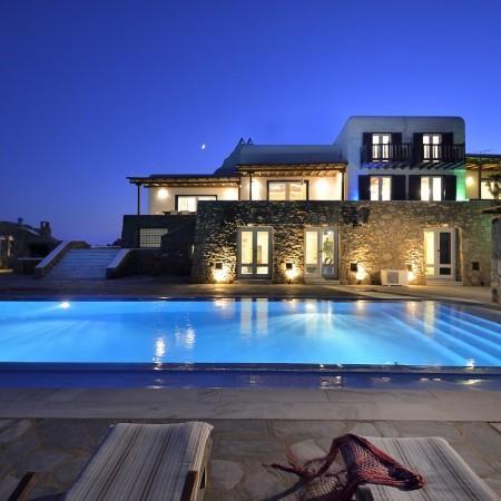 mykonos villa for rent paradise beach