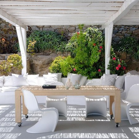 Mykonos town villa for rent