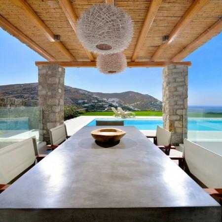 Mykonos villa exterior