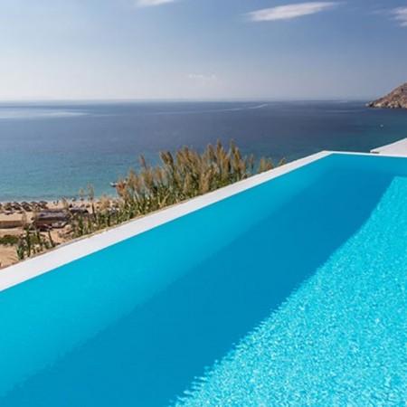 5 Bedroom villa rental in Elia Mykonos