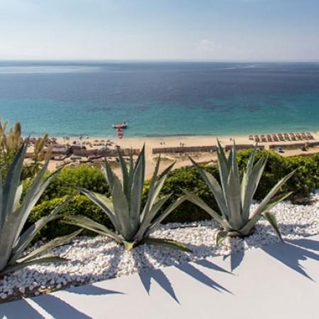 sea view to Elia beach