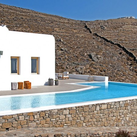Mykonos wellness and spa villa for rent